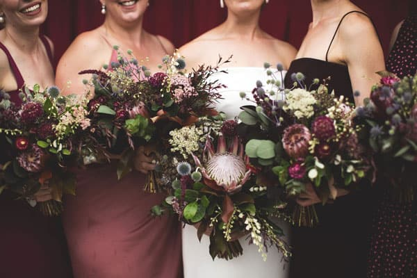 Spring Wedding Flowers, proteas