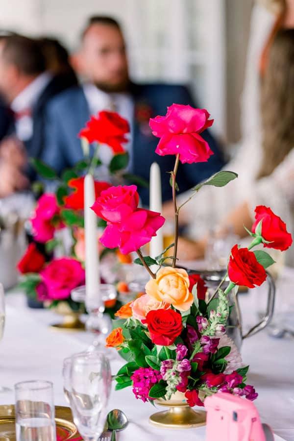 Spring Wedding Flowers, roses