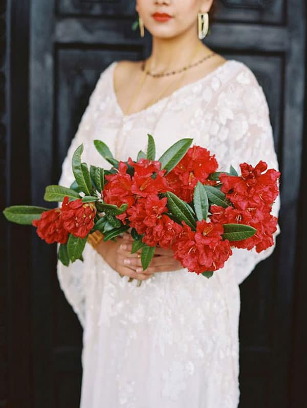 Spring Wedding Flowers, rhododendron