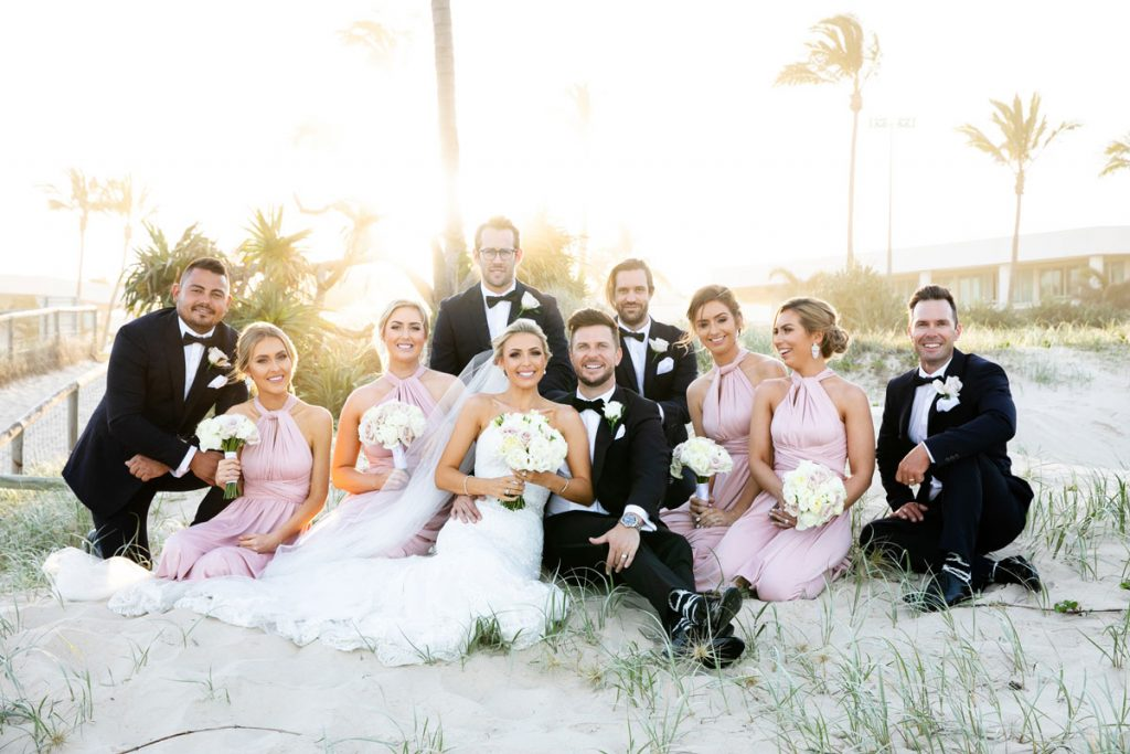 Sheraton Grand Mirage Resort Gold Coast beachfront wedding venue