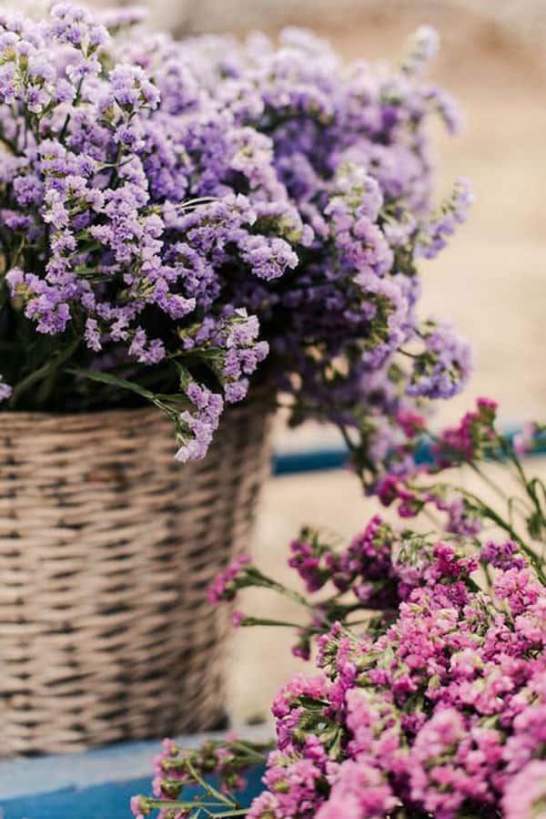 Spring Wedding Flowers, statice