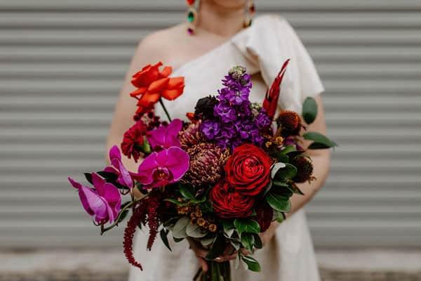 Spring Wedding Flowers, stock