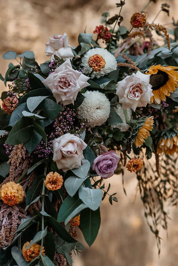 Spring Wedding Flowers, sunflower
