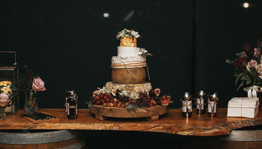 How to create the ultimate cheese tower wedding cake