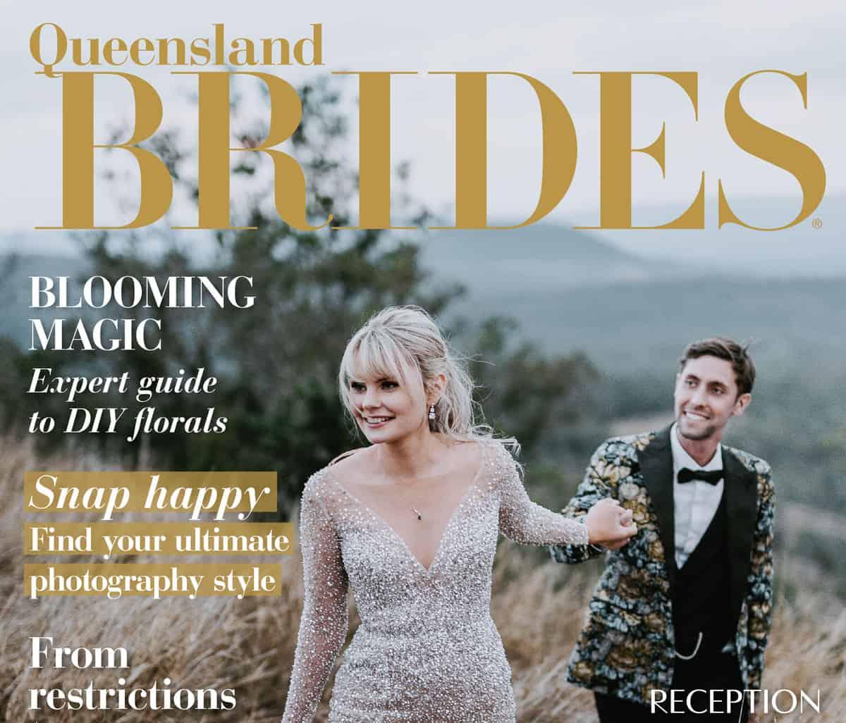 Queensland Brides Autumn Winter 2021 cover