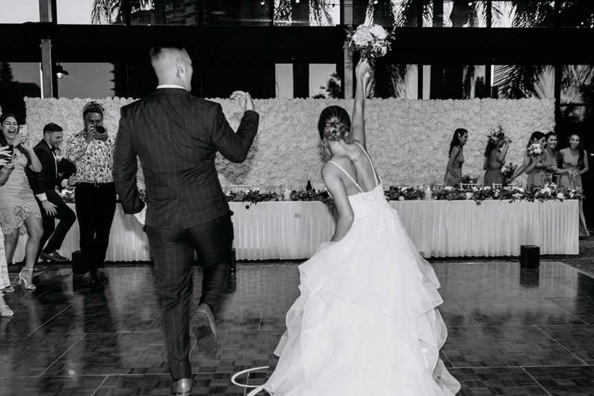 real wedding taylah carey