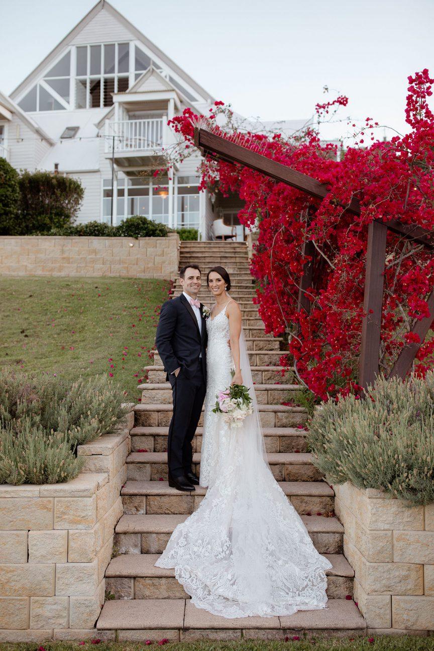 real wedding leanne david
