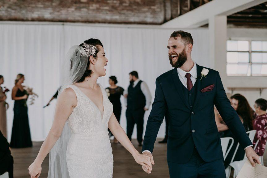 real wedding carmel damon