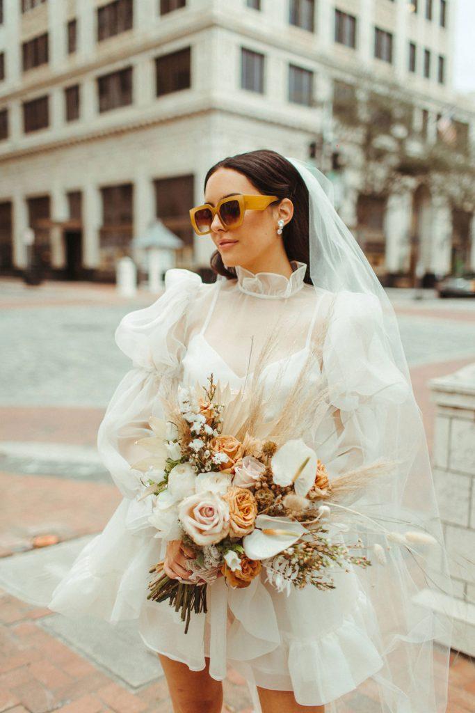 wedding fashion trends - odylyne the ceremony