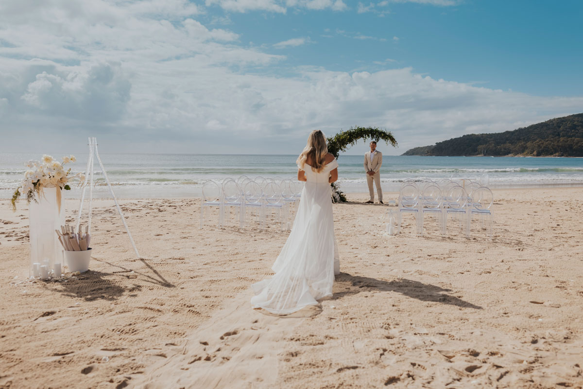 Noosa beach wedding inspiration