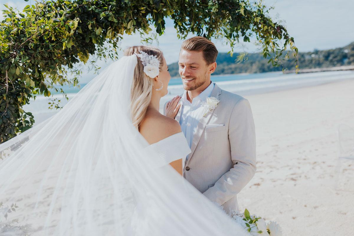 Noosa Wedding Styled Shoot