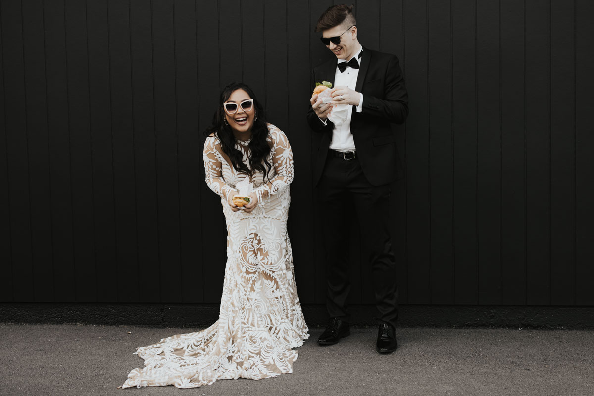 Real wedding at The Refinery Brisbane